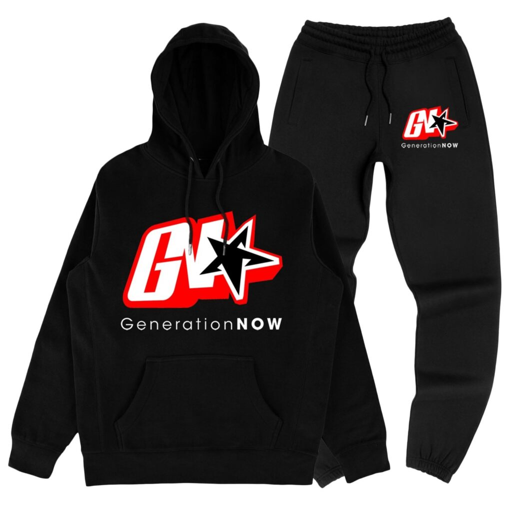 GN Sweatsuit Black/Red