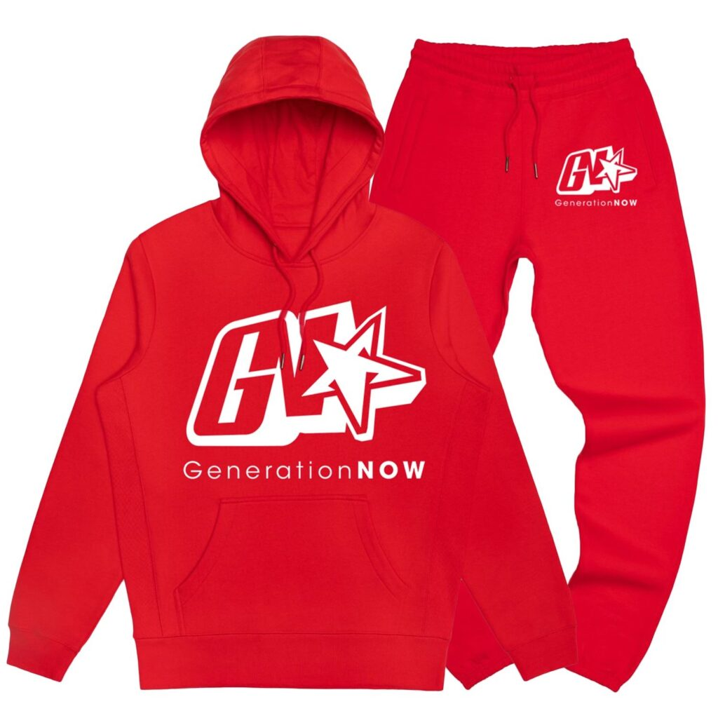 GN Sweatsuit Red/White