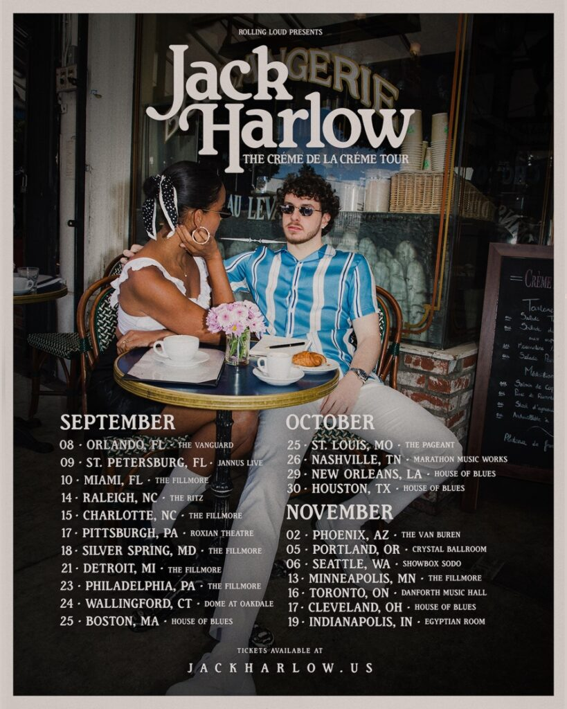 Jack Harlow Tour - 2021
