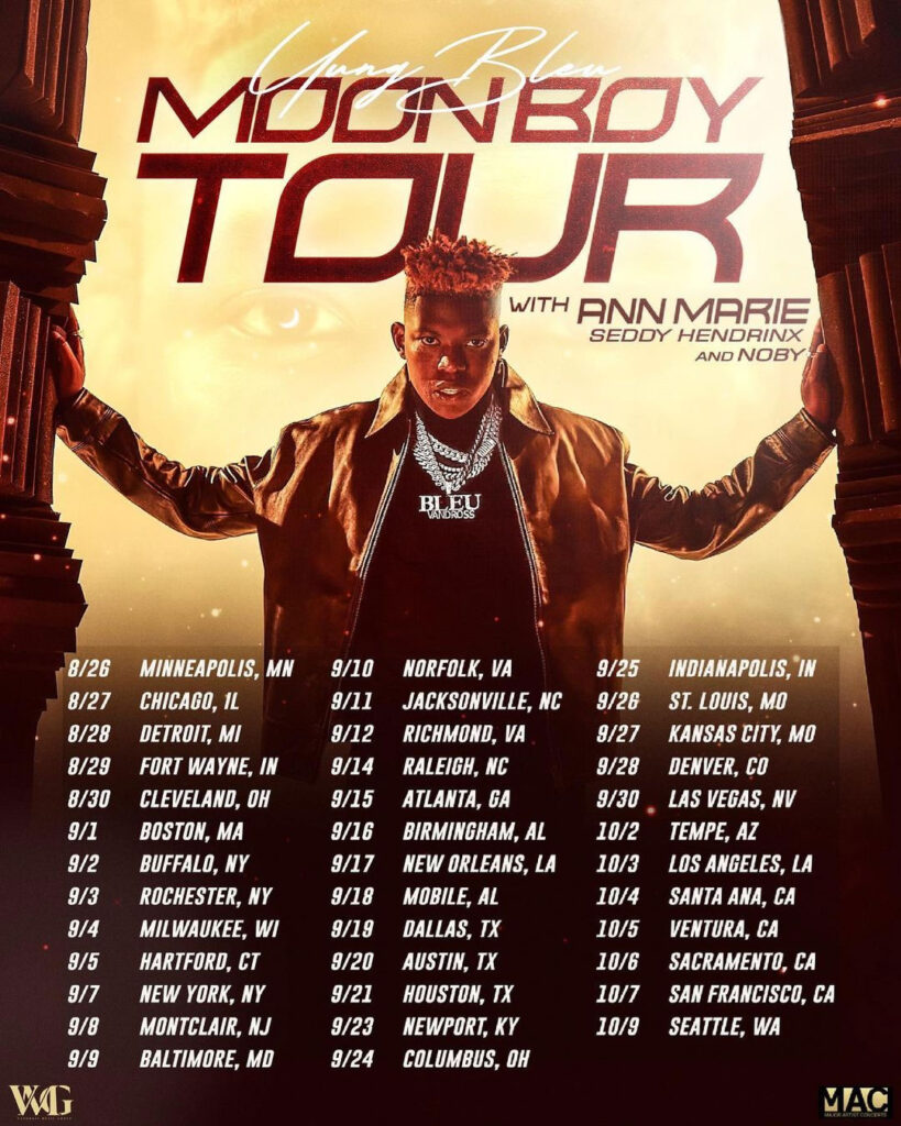 Seddy Hendrinx - Moon Boy Tour